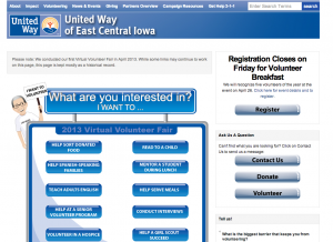 United Way Topical Home Page
