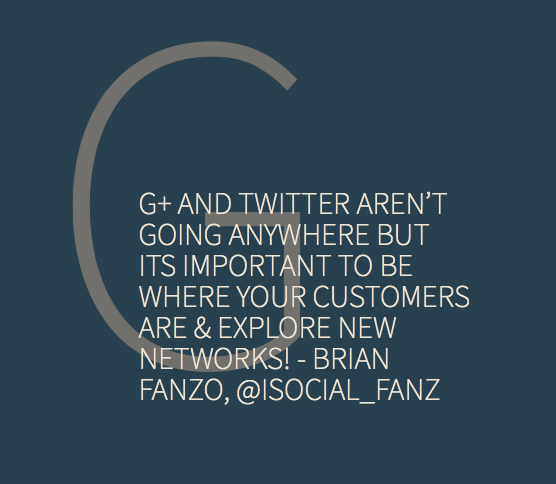G+ and Twitter aren't dying