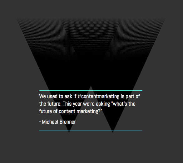 Michael Brenner on content marketing trends