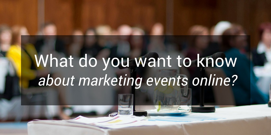 marketing events online survey